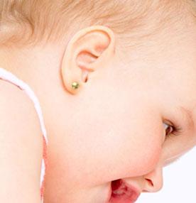 Aretes para bebé recién nacida ¿Cómo Elegirlos?